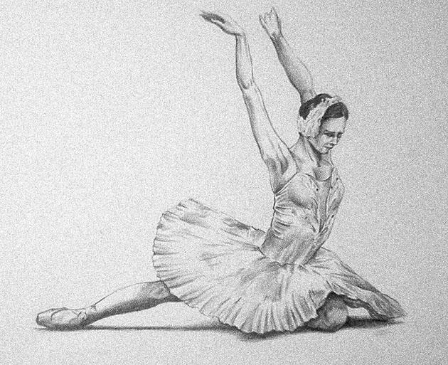 Disegno Di Una Ballerina : Disegno di una ballerina classica ballerina danza classica foto